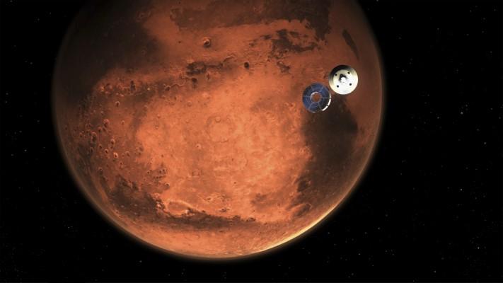 Ιστορική στιγμή! Η προσεδάφιση στον πλανήτη Αρη, είναι γεγονός!