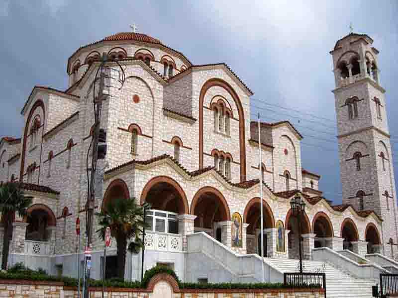 Ο Ιερός Ναός της Παναγίας Φανερωμένης