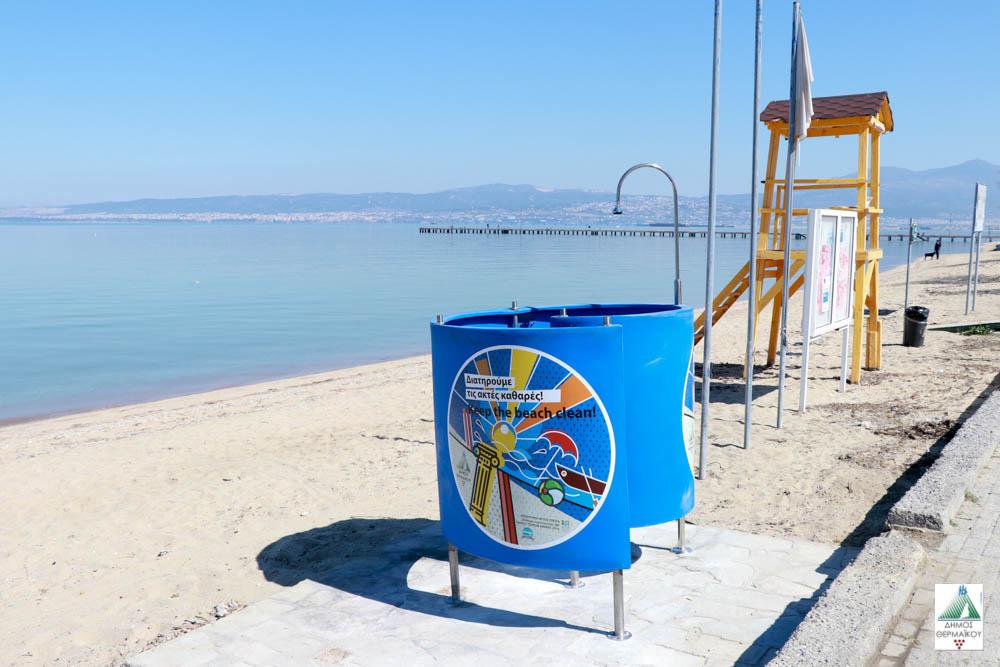 Γνωμοδότηση του Τοπικού των Ν. Επιβατών για τοποθέτηση χημικών τουαλετών και ντους στην παραλία