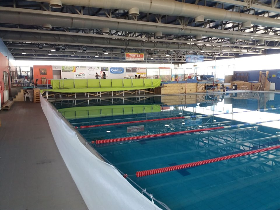 Επαναλειτουργεί (μερικώς) το κολυμβητήριο του ΚΑΠΠΑ