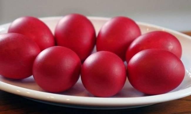 Μ. Πέμπτη, ώρα για κόκκινα αυγά!