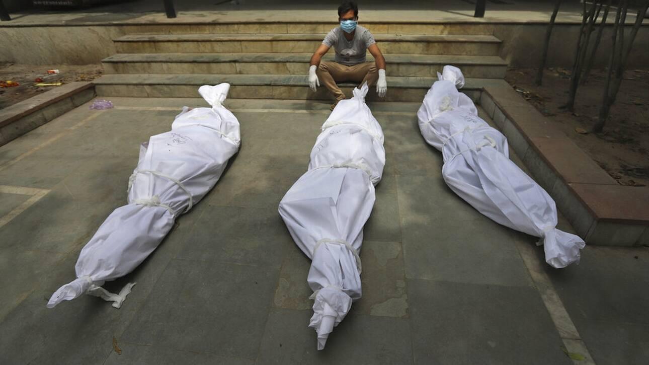 Απίστευτο δράμα στην Ινδία- 4120 νεκροί από κορωνοϊό σε μία ημέρα!