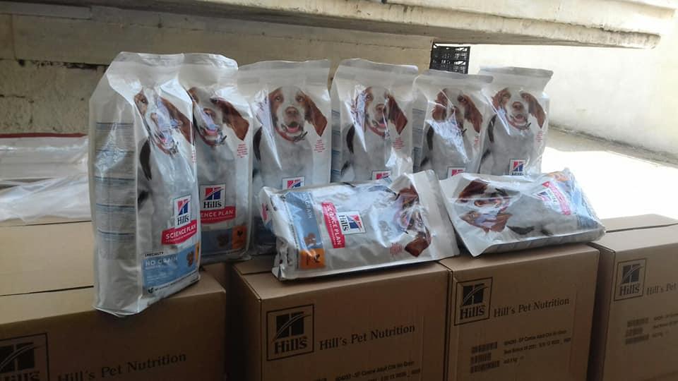 Δυόμιση τόνοι ξηράς τροφής δωρεά στον ΣΥΠΠΑΖΑΘ