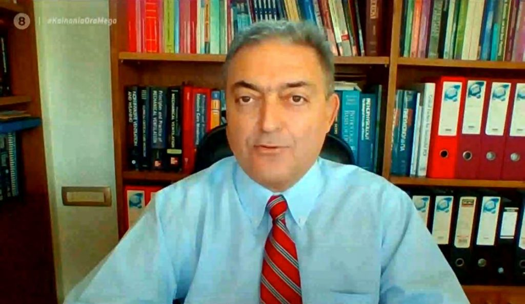 """Βασιλακόπουλος στο MEGA: """"Ερχονται τα εμβόλια για παιδιά 6 μηνών εώς 12 ετών"""""""