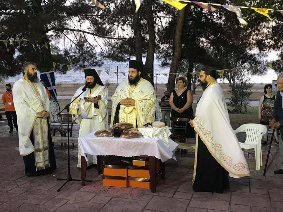 Με λαμπρότητα εορτάσθη η μνήμη των Αγίων Αποστόλων στο Αγγελοχώρι