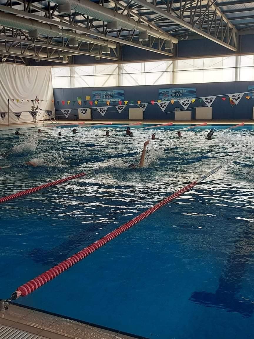 Οαση δροσιάς η πισίνα του ΚΑΠΠΑ