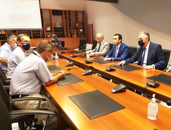 """Θέμα στη συνάντηση Καλαφάτη-Σκρέκα το THESS INTEC: """"Μπορεί να ολοκληρωθεί πιο γρήγορα!"""""""