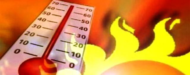 Η υψηλότερη θερμοκρασία σήμερα στον Δήμο Θερμαϊκού: 35,5 βαθμοί στη Μηχανιώνα