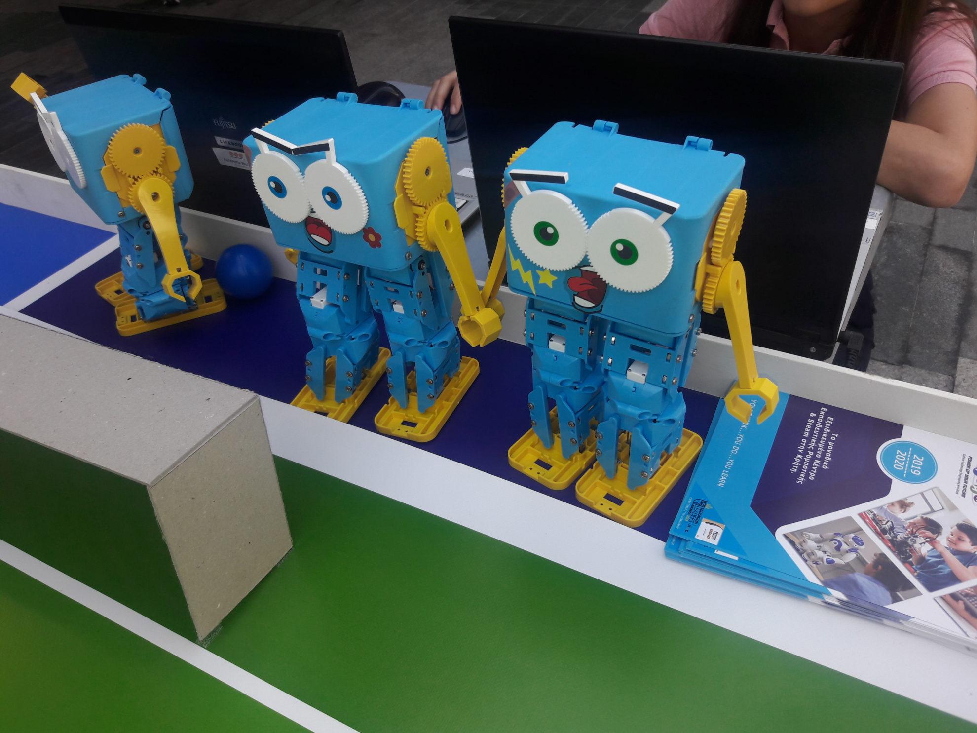 Πρωτάθλημα Ρομποτικής First Lego League στη Θεσσαλονίκη -Δηλώσεις Χαριστέα