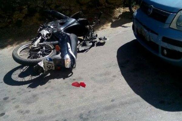 Σοβαρό τροχαίο ατύχημα στη Περαία