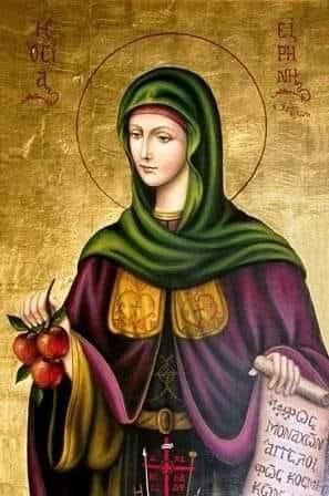Υπαίθρια αγρυπνία στο Αγγελοχώρι-Θα ευλογηθούν τα μήλα της Οσίας Ειρήνης