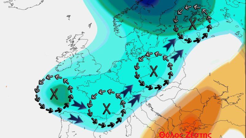 """Η εξήγηση για τον καύσωνα: Ακραίο """"ατμοσφαιρικό μποτιλιάρισμα"""""""