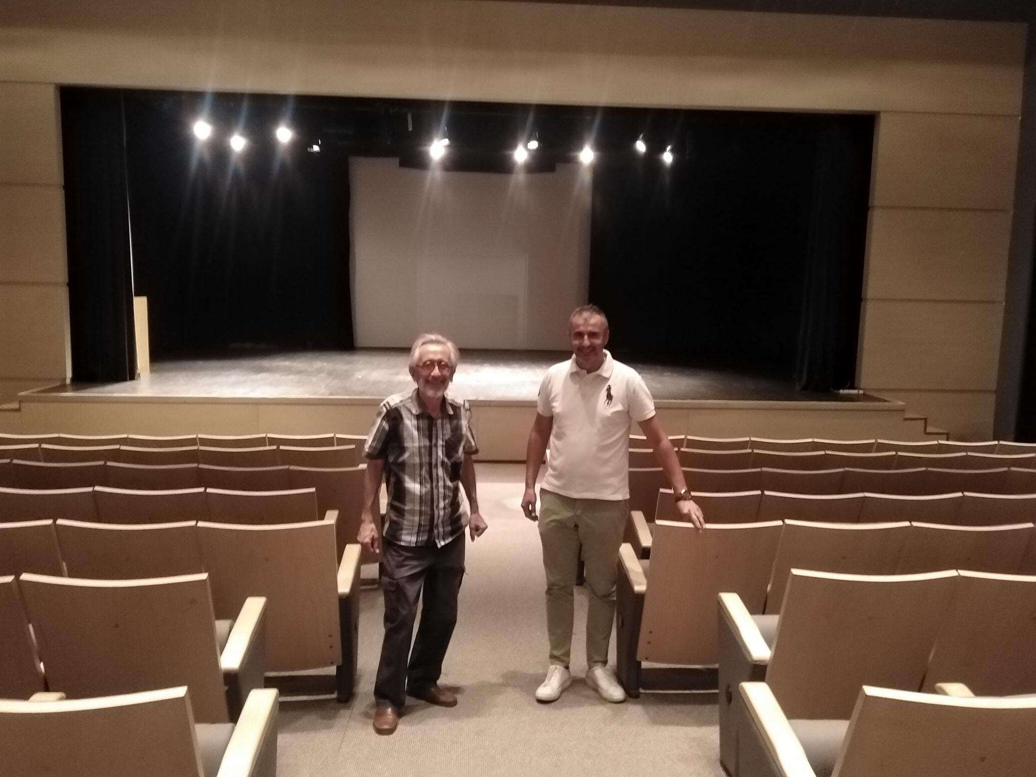 Επίσκεψη Παλαντζίδη στο θέατρο του ΚΑΠΠΑ