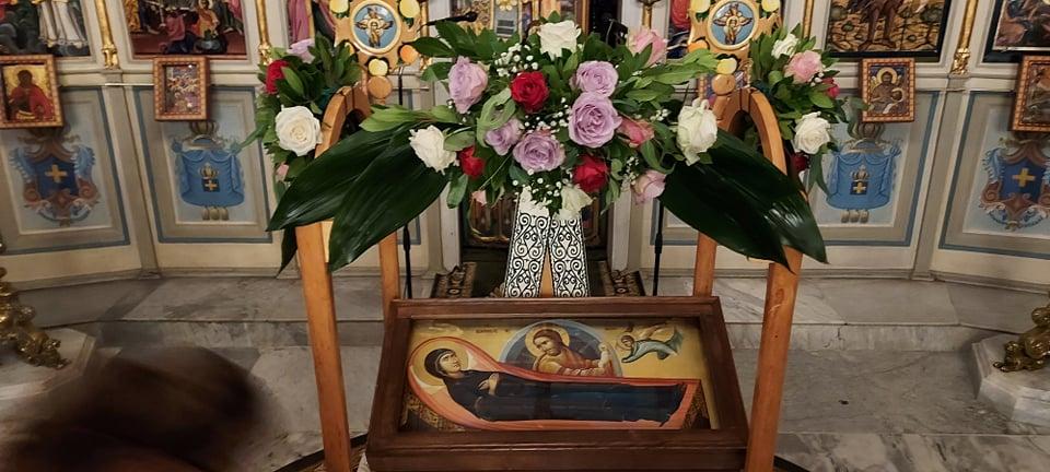 Αυτό είναι το λείψανο του Αγίου Ραφαήλ που βρίσκεται στην Επανομή
