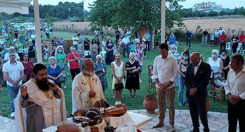 Παρουσία Βαρτζόπουλου η ιερά πανήγυρις στο εκκλησάκι της Παραλίας Επανομής