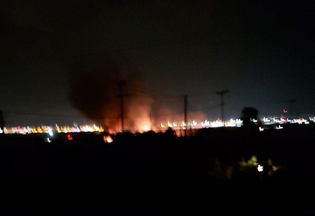 Εφιάλτης! Νυχτερινή φωτιά στα Τσαϊρια