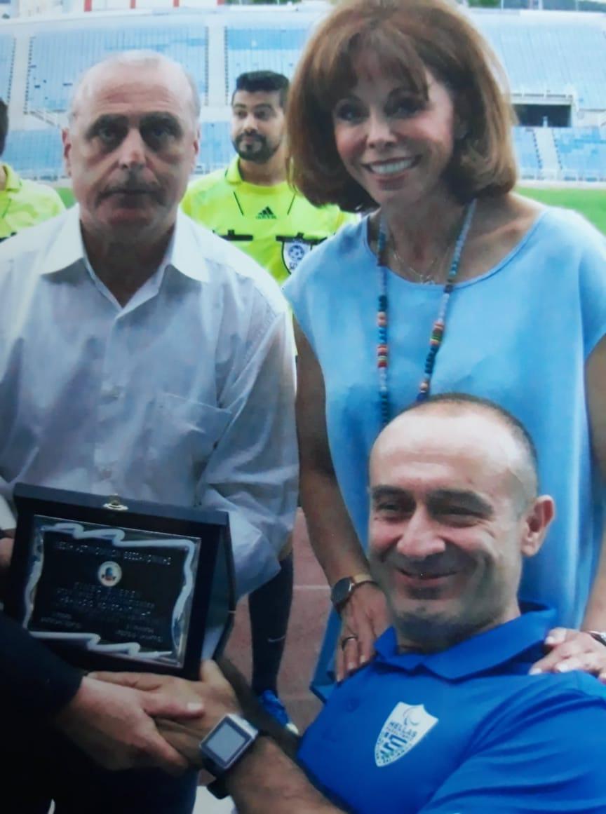 Συγχαρητήρια Φεστερίδη στον παραολυμπιονίκη μας Θανάση Κωνσταντινίδη