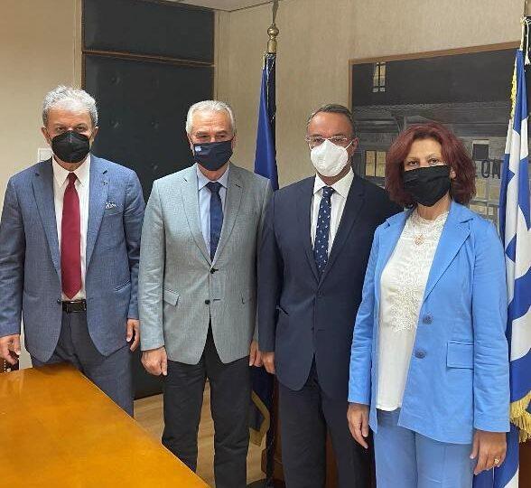 Συνάντηση Ποντίων βουλευτών ΝΔ με Σταϊκούρα για το θέμα των παλιννοστούντων