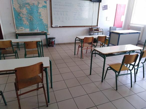 Αναστάτωση στο 2ο Γυμνάσιο Μηχανιώνας: Απαγορεύθηκε η είσοδος σε μαθητή που δεν είχε self test