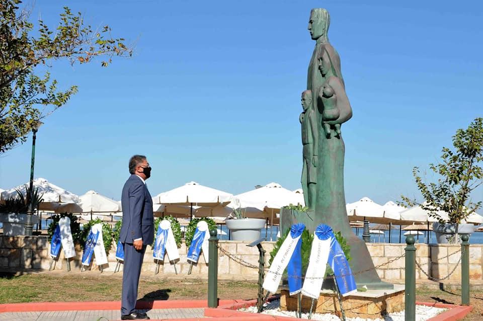 """Μαυρομάτης: """" Σήμερα τιμήσαμε την ίδρυση μιας νέας πατρίδας, της Περαίας!"""""""