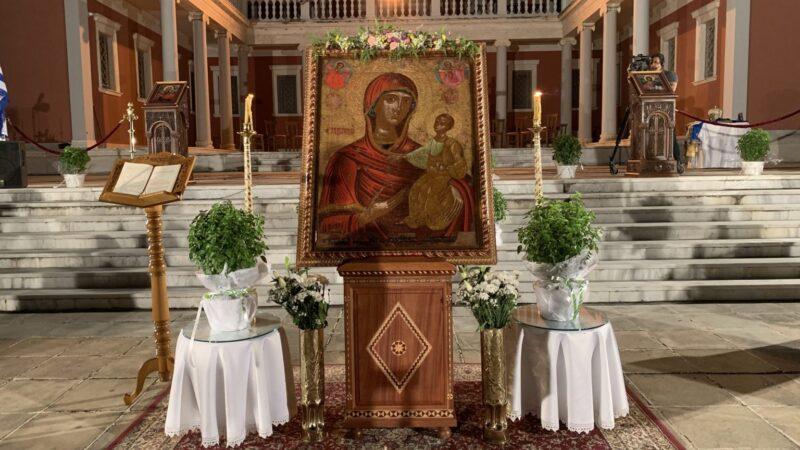 Ιερά Πανήγυρις Παναγίας Ηλιόκαλλης Νέων Επιβατών