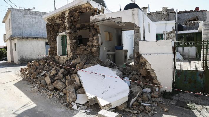 Ανθρωπιστική βοήθεια προς το Αρκαλοχώρι της Κρήτης από την Περιφέρεια Κεντρικής Μακεδονίας
