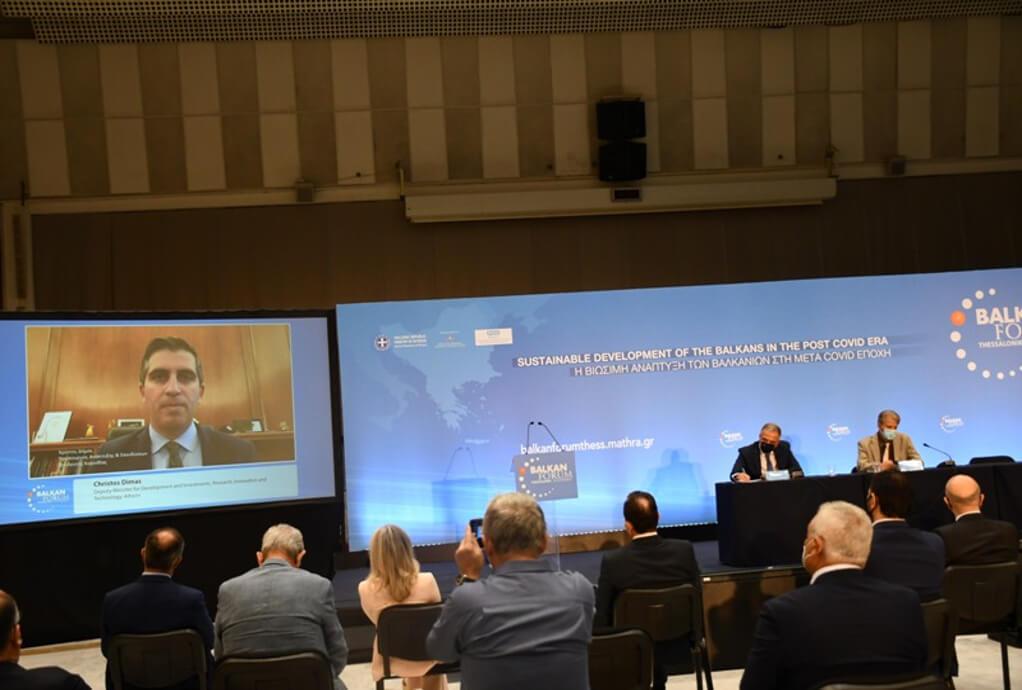 """Ευθυμιάδης στο Balκan Forum: """" Το Thess Intec θα φέρει στην Περαία 7.000 εργαζομένους"""" (ΒΙΝΤΕΟ)"""