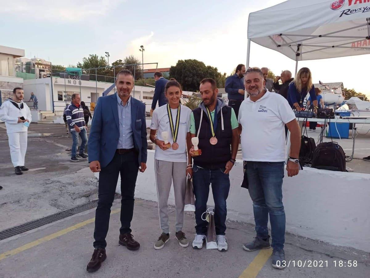 Κοσμόγλου και Βογιατζοπούλου με τα μετάλλια στο στήθος!