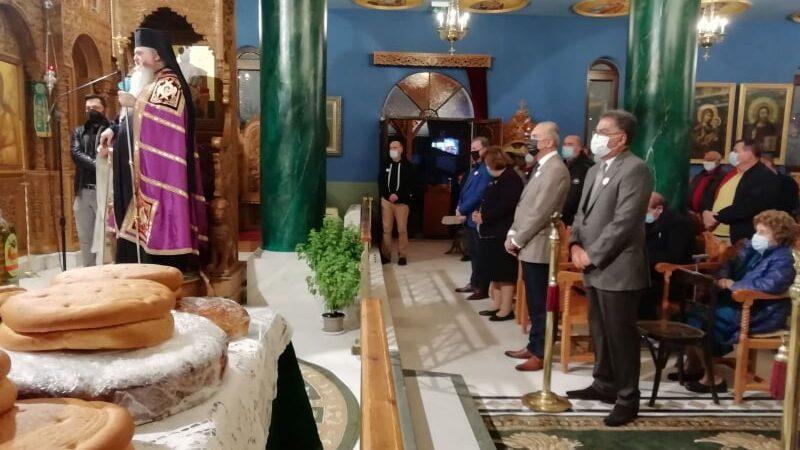 Παρουσία Ιουστίνου ο Μέγας Αρχιερατικός Πανηγυρικός Εσπερινός στην Οσία Παρασκευή των Ν. Επιβατών